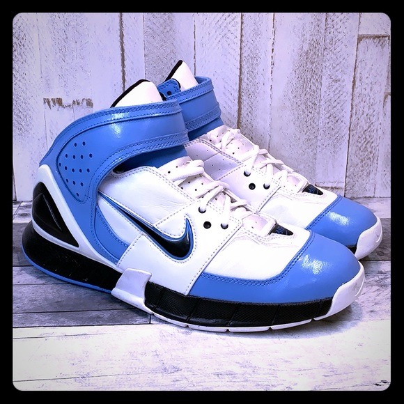 Nike Air Zoom Huarache 2K5 Kobe Rare UNC Colorway